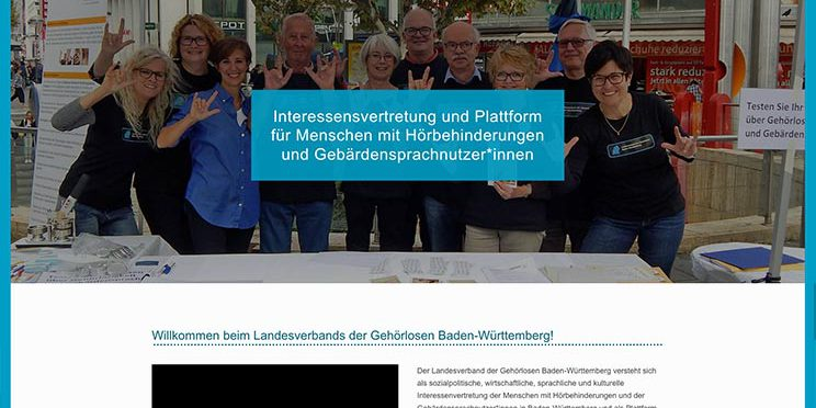 screenshot neue webseite